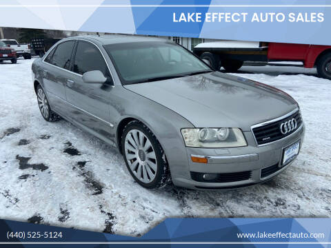 2005 Audi A8 for sale at Lake Effect Auto Sales in Chardon OH
