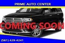 2011 Dodge Durango for sale at PRIME AUTO CENTER in Palm Springs FL