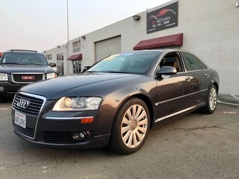 2006 Audi A8 for sale at LT Motors in Rancho Cordova CA