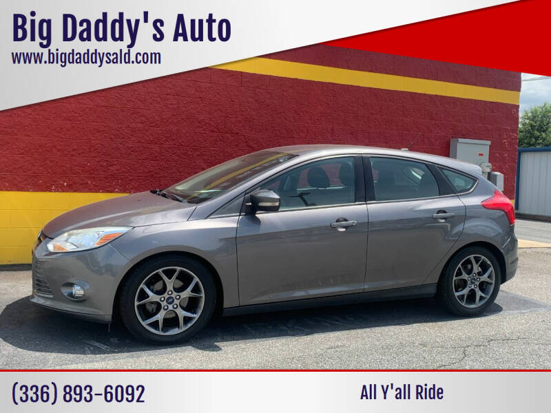 2014 Ford Focus for sale at Big Daddy's Auto in Winston-Salem NC
