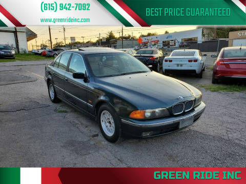 1997 BMW 5 Series for sale at Green Ride Inc in Nashville TN