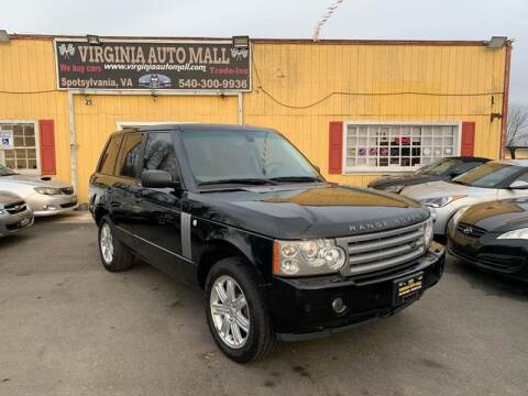 2008 Land Rover Range Rover for sale at Virginia Auto Mall in Woodford VA