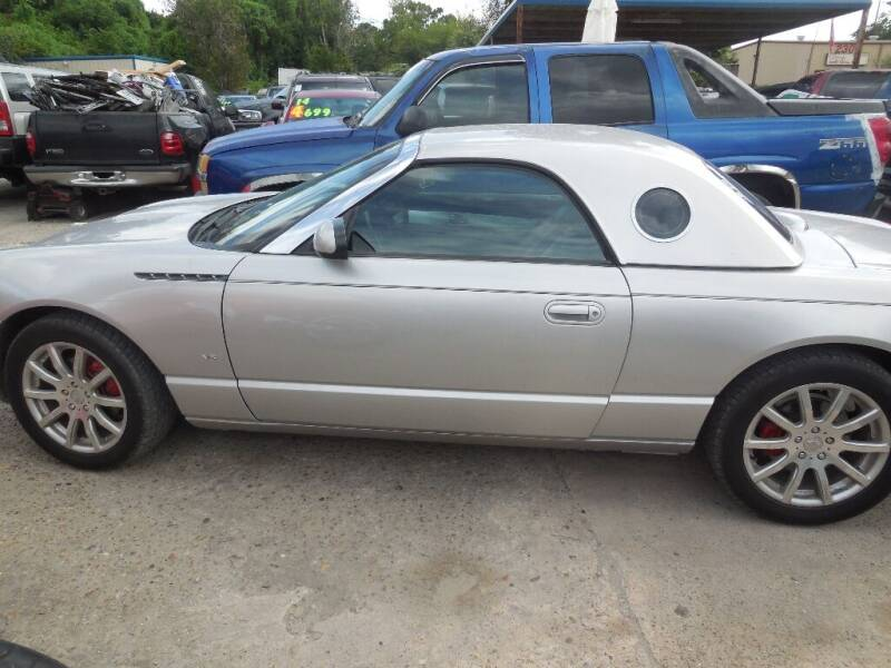 2004 Ford Thunderbird for sale at SCOTT HARRISON MOTOR CO in Houston TX