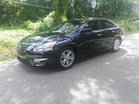 2013 Nissan Altima for sale at Low Price Autos in Beaumont TX