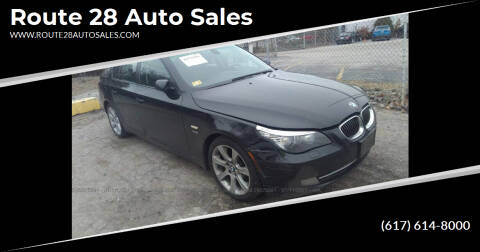 2009 BMW 5 Series for sale at Route 28 Auto Sales in Canton MA