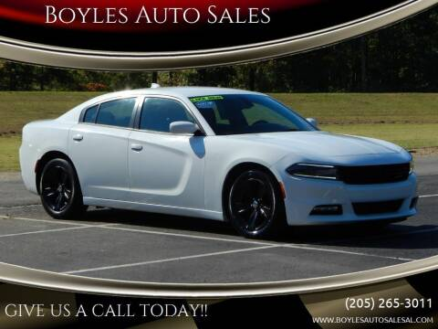 2016 Dodge Charger for sale at Boyles Auto Sales in Jasper AL