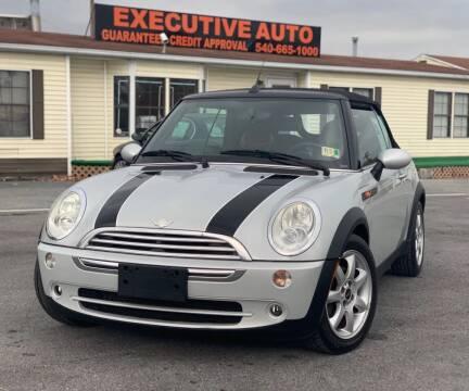 2008 MINI Cooper for sale at Executive Auto in Winchester VA