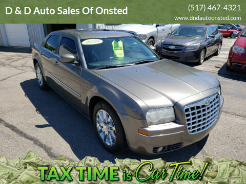 2009 Chrysler 300 for sale at D & D Auto Sales Of Onsted in Onsted   Brooklyn MI