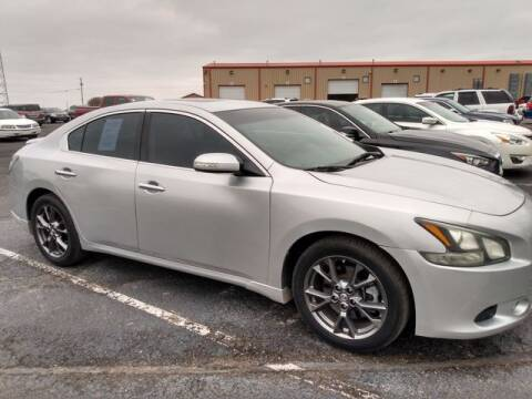 2012 Nissan Maxima for sale at AFFORDABLE DISCOUNT AUTO in Humboldt TN