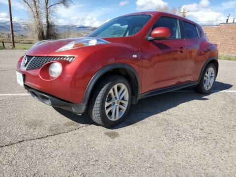 2013 Nissan JUKE for sale at HIGH COUNTRY MOTORS in Granby CO