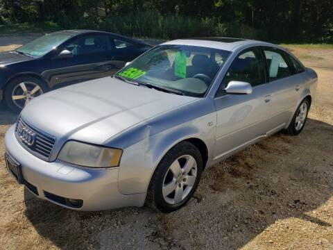 2002 Audi A6 for sale at Northwoods Auto & Truck Sales in Machesney Park IL