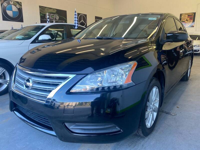 2013 Nissan Sentra for sale at GCR MOTORSPORTS in Hollywood FL