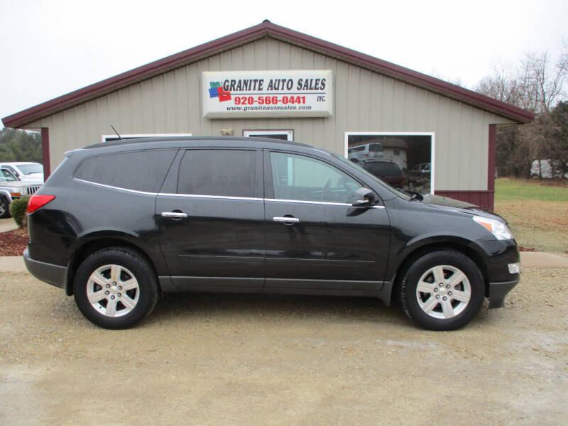 2011 Chevrolet Traverse for sale at Granite Auto Sales in Redgranite WI
