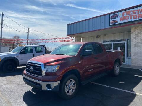 2010 Toyota Tundra for sale at FIESTA MOTORS in Hagerstown MD