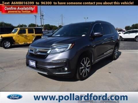 2021 Honda Pilot for sale at South Plains Autoplex by RANDY BUCHANAN in Lubbock TX