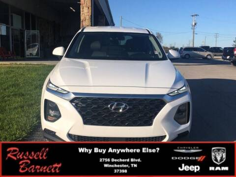 2019 Hyundai Santa Fe for sale at Russell Barnett Chrysler Dodge Jeep Ram in Winchester TN