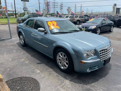 2009 Chrysler 300 for sale at Texas 1 Auto Finance in Kemah TX