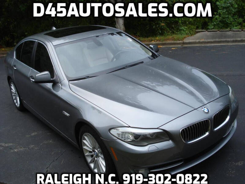 2012 BMW 5 Series for sale at D45 Auto Brokers in Raleigh NC