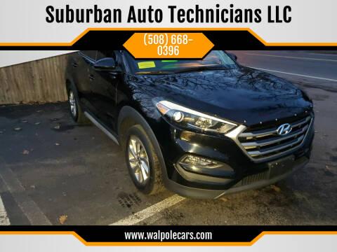 2017 Hyundai Tucson for sale at Suburban Auto Technicians LLC in Walpole MA