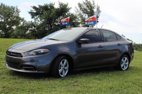 2015 Dodge Dart for sale at CHASE MOTOR in Miami FL