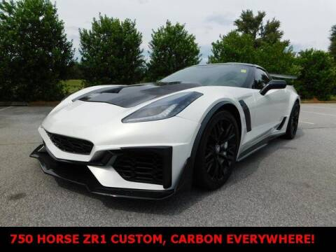 2017 Chevrolet Corvette for sale at West Georgia Auto Brokers in Douglasville GA