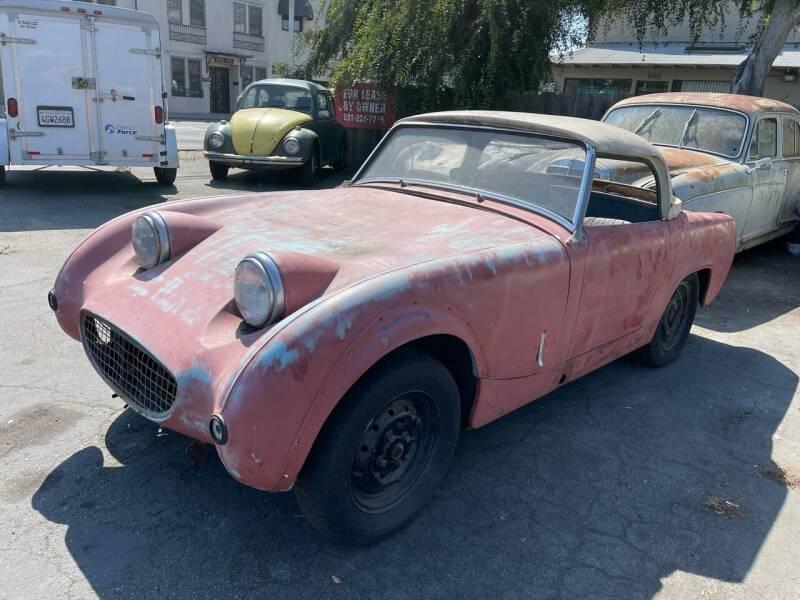 1965 Austin Healey Bugeye Sprite for sale at Dodi Auto Sales in Monterey CA
