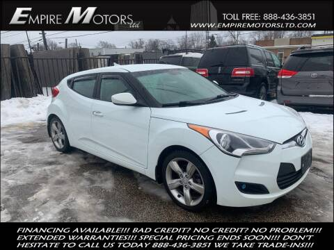2013 Hyundai Veloster for sale at Empire Motors LTD in Cleveland OH