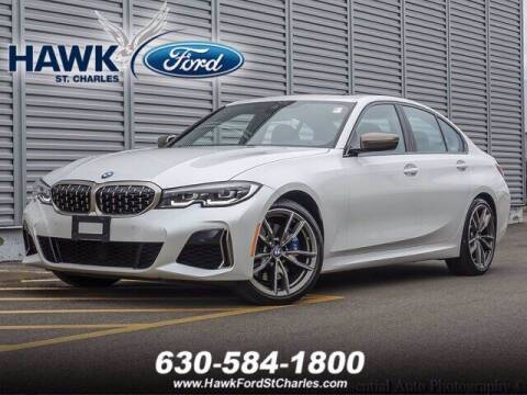 2020 BMW 3 Series for sale at Hawk Ford of St. Charles in Saint Charles IL