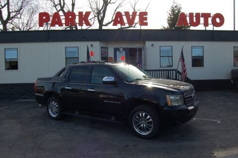 2008 Chevrolet Avalanche for sale at Park Ave Auto Inc. in Worcester MA