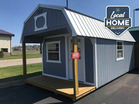 Old Hickory Buildings Lofted Barn 12x22 for sale at Cannon Falls Auto Sales in Cannon Falls MN