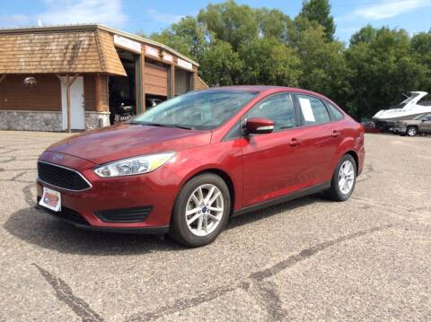 2015 Ford Focus for sale at MOTORS N MORE in Brainerd MN