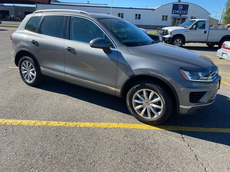 2016 Volkswagen Touareg for sale at Quality Automotive Group Inc in Billings MT