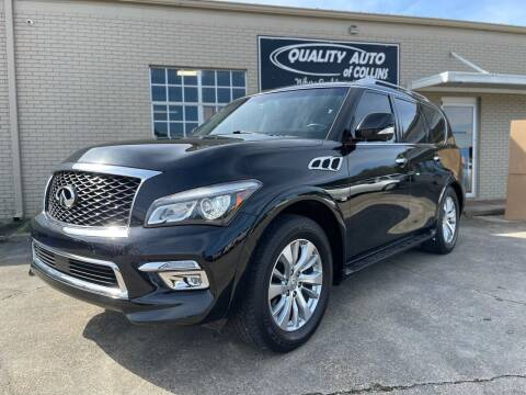 2017 Infiniti QX80 for sale at Quality Auto of Collins in Collins MS