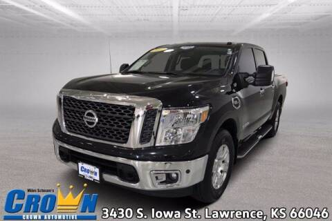 2017 Nissan Titan for sale at Crown Automotive of Lawrence Kansas in Lawrence KS