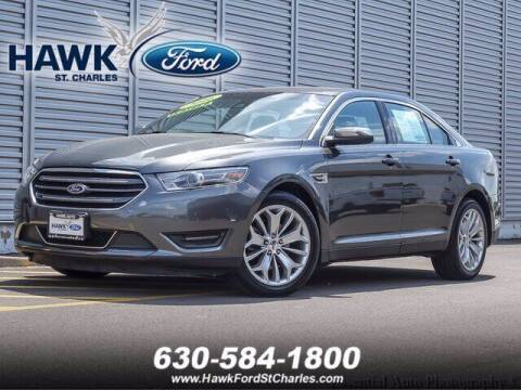 2016 Ford Taurus for sale at Hawk Ford of St. Charles in St Charles IL