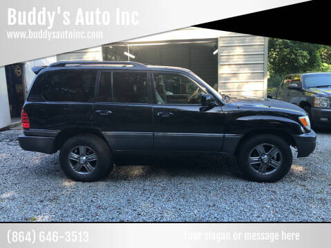 2007 Lexus LX 470 for sale at Buddy's Auto Inc in Pendleton SC
