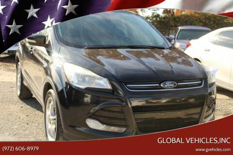 2013 Ford Escape for sale at Global Vehicles,Inc in Irving TX