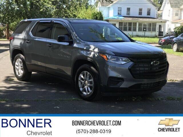 2020 Chevrolet Traverse for sale at Bonner Chevrolet in Kingston PA