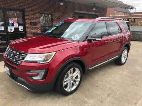2017 Ford Explorer for sale at Triple J Automotive in Erwin TN