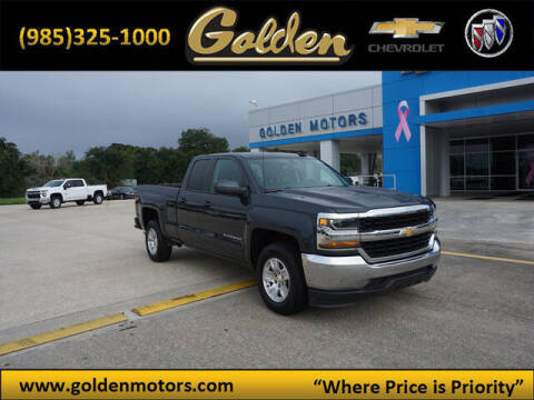 2019 Chevrolet Silverado 1500 LD for sale at GOLDEN MOTORS in Cut Off LA