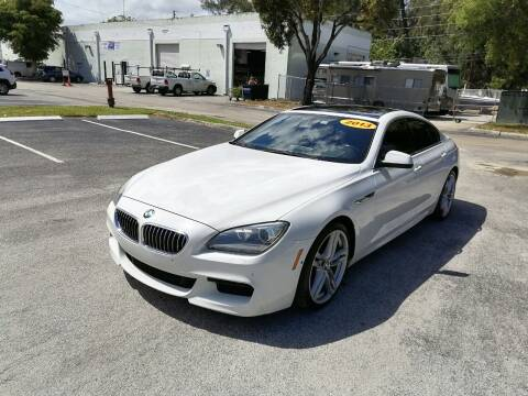 2013 BMW 6 Series for sale at Best Price Car Dealer in Hallandale Beach FL