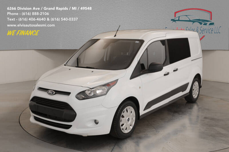2015 Ford Transit Connect Cargo for sale at Elvis Auto Sales LLC in Grand Rapids MI