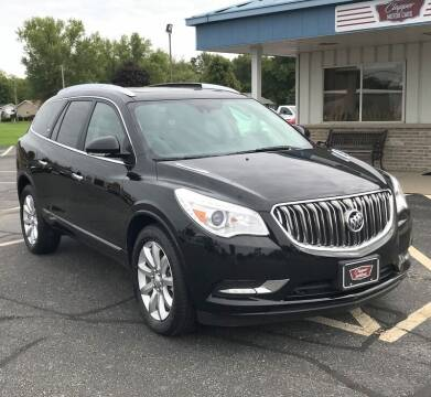 2016 Buick Enclave for sale at Clapper MotorCars in Janesville WI