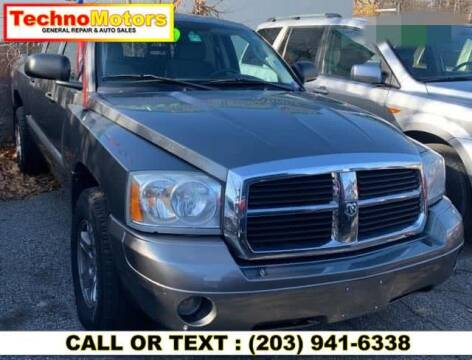 2006 Dodge Dakota for sale at Techno Motors in Danbury CT