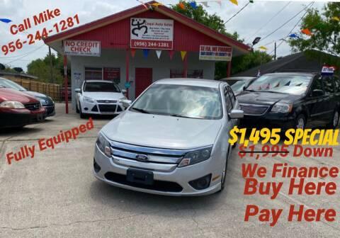 2011 Ford Fusion for sale at Coqui Auto Sales in La Feria TX
