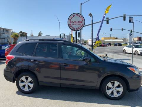 2015 Subaru Forester for sale at San Mateo Auto Sales in San Mateo CA