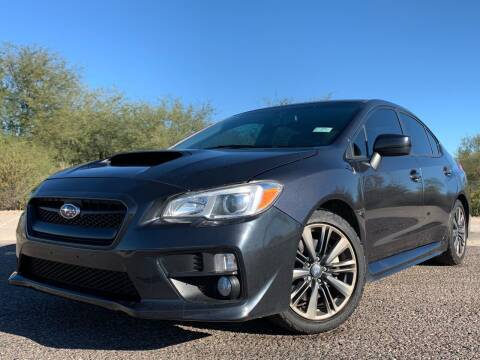 2015 Subaru WRX for sale at AZ Auto Gallery in Mesa AZ