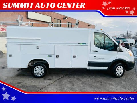 2016 Ford Transit Cutaway for sale at SUMMIT AUTO CENTER in Summit IL