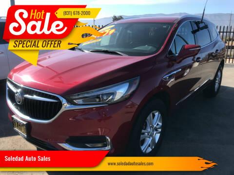 2019 Buick Enclave for sale at Soledad Auto Sales in Soledad CA
