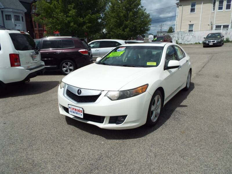 2009 Acura TSX for sale at FRIAS AUTO SALES LLC in Lawrence MA